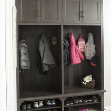 Traditional Entry by Mullet Cabinet