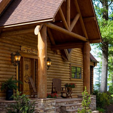 Traditional Entry by Home Design Elements LLC