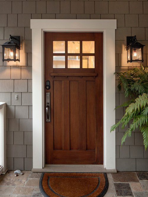Colonial front doors home design ideas pictures remodel for Door design houzz