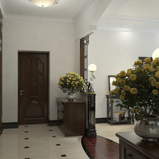 Contemporary Entry by Lompier Interior Group