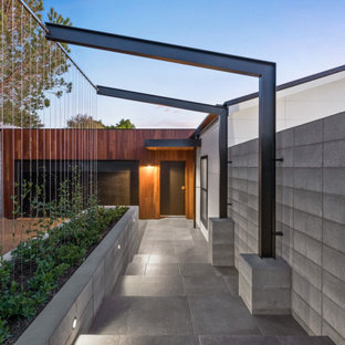 Photo of a contemporary entryway in Other.