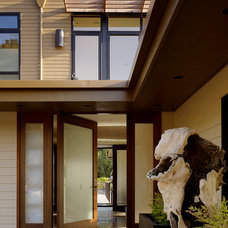 Contemporary Entry by Aleck Wilson Architects