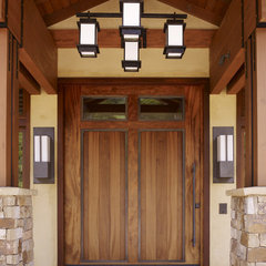 contemporary entry by Conrado - Home Builders