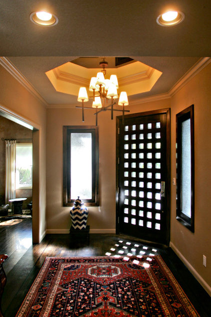 Eclectic Entry by Rehder Construction, Inc.