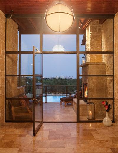 By Larue Architects: 7 Stunning Glass Walkways In Modern Homes