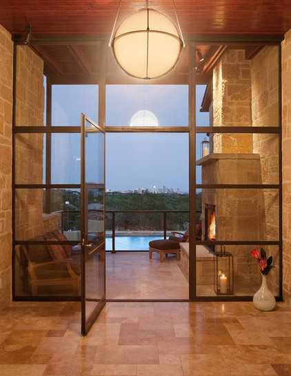 Contemporary Entry by LaRue Architects