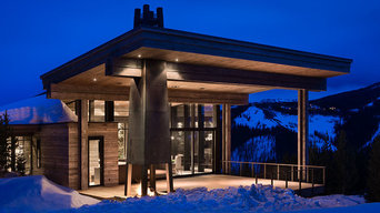 Lower Foxtail Residence; Big Sky, MT