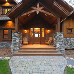 traditional exterior by RemWhirl Architecture & Landscape Design