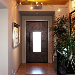 Luce - Cantera Doors - Luce Entry Door Exterior and Interior View