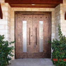 Contemporary Entry by Cantera Doors