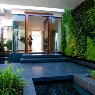 Lush Modern Entry