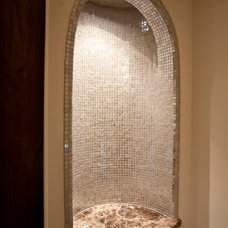 Mediterranean Entry by Creative Touch Interiors