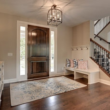 Traditional Entry by Grace Hill Design