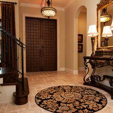 Traditional Entry by Regency Interior Design,LLC