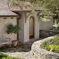 Mediterranean Entry by Nautilus Architects LLC