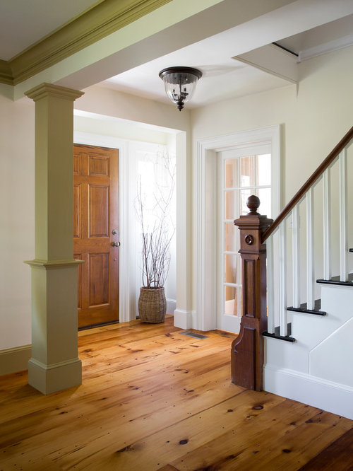 Houzz Open Foyer : Colonial foyer houzz