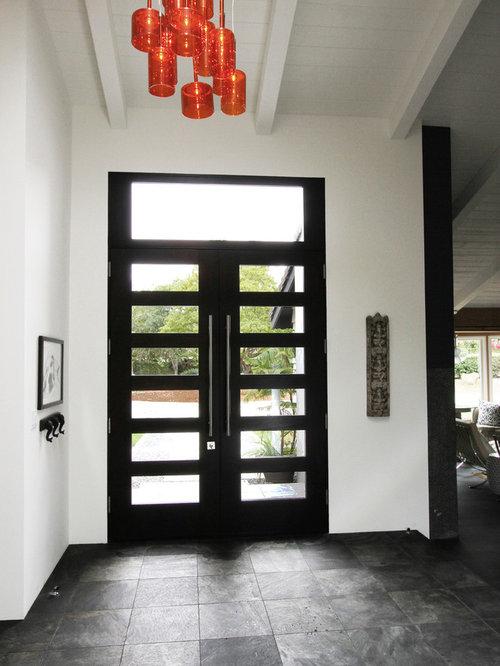 Oriental Foyer Design : Asian entryway design ideas renovations photos with a