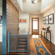Contemporary Entry by Tyler Engle Architects PS