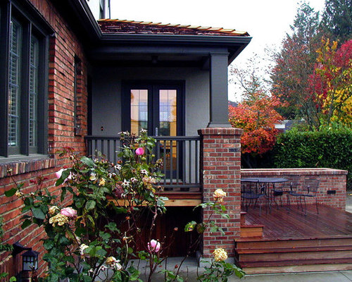 Exterior Paint Colors With Red Brick Trim | Houzz