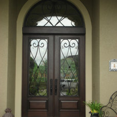 Mediterranean Entry by Brentwood Construction and Remodeling