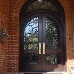 mediterranean entry by Southern Custom Doors & Hardware