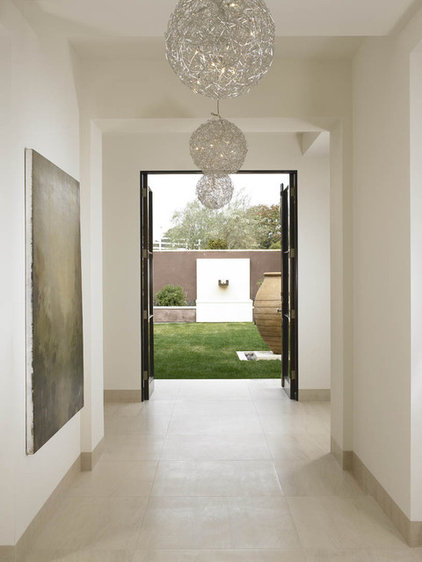 Modern Hall by Amy Noel Design