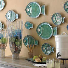 Tropical Entry Malibu Fish Plates