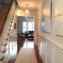 Entry Hall Wainscot Ideas