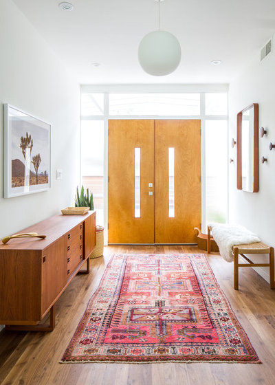 Midcentury Entry by Lewis / Schoeplein architects