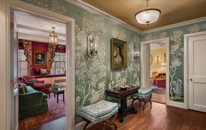 Houzz Tour: Park Avenue Pied-à-Terre Paints a Pretty Picture