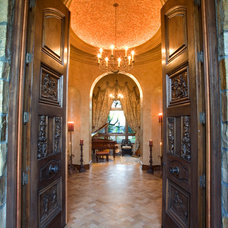 Mediterranean Entry by James Glover Residential & Interior Design