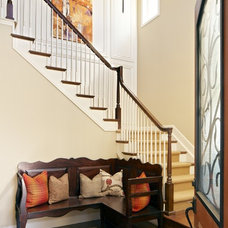 Traditional Entry by Duet Design Group