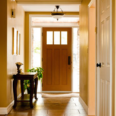 Traditional Entry by Kendall Ansell Interiors