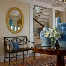 Traditional Entry by Anita Clark Design
