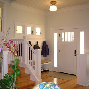 Island style entryway photo in Orange County