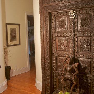 Marie Burgos Tropical design home
