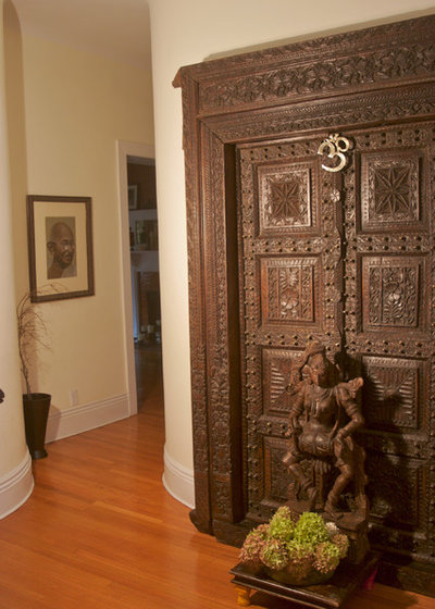Indian Entry by Marie Burgos Design