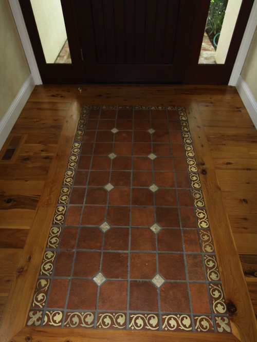 Tile Rug Inlay Home Design Ideas Pictures Remodel And Decor