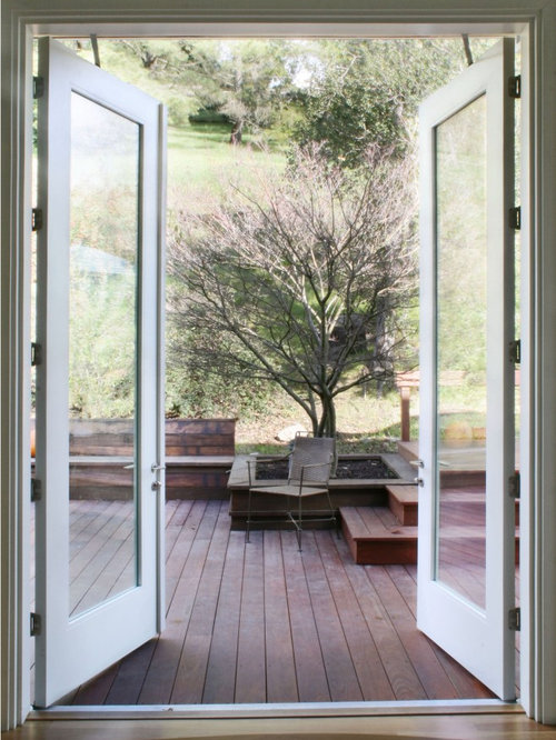 Transitional Double Front Door Photo In San Francisco With A Glass Front  Door