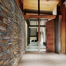 Modern Entry by Ward-Young Architecture & Planning - Truckee, CA