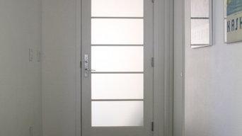 Marvin entry door