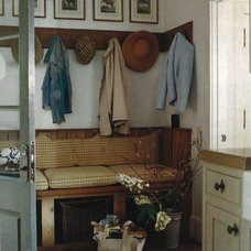 Traditional Entry by Mary Evelyn Interiors