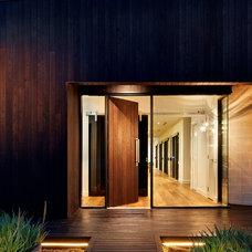 Contemporary Entry by Eco Edge Architecture + Interior Design