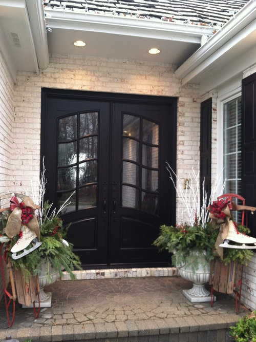 Inspiration for a timeless entryway remodel in Atlanta & Weatherproof Doors | Houzz