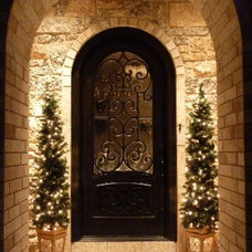Traditional Entry by Masterpiece Doors & Shutters