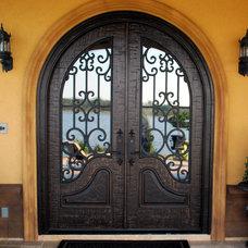 Front Doors by Masterpiece Doors & Shutters