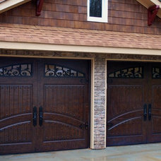 traditional garage doors by Masterpiece Doors & Shutters