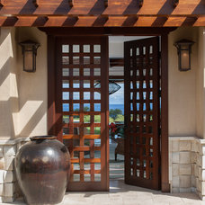 Mediterranean Entry by Henderson Design Group
