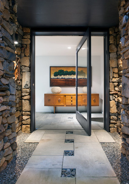 Contemporary Entry by Carlton Architecture