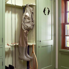 Rustic Entry by Ashley Campbell Interior Design